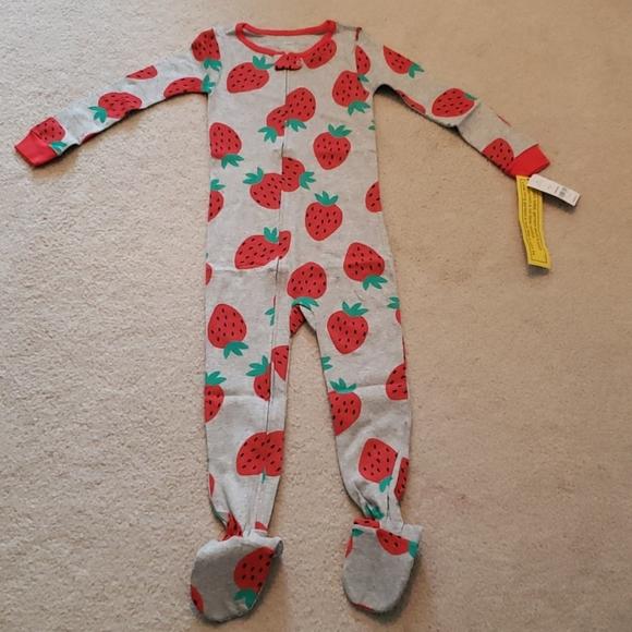 Carter/'s NWT 4T Girl Penguin PJ Footed Pajama Sleeper
